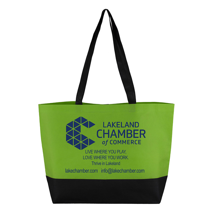 Large Beach, Corporate and Travel Tote Bag