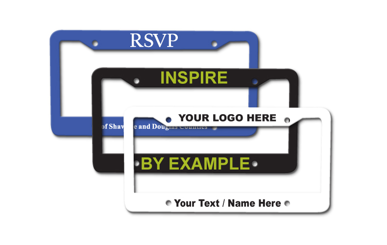 License Plate Frame Fits ALL Size Plates