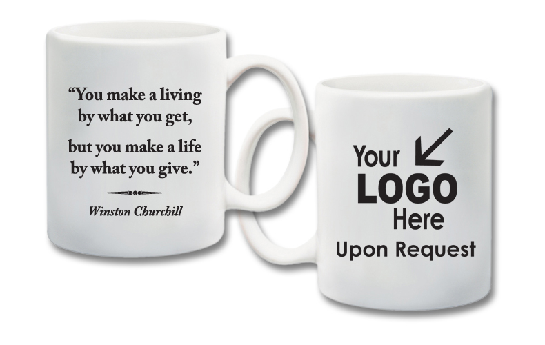 11 oz  Ceramic Mug With Quote