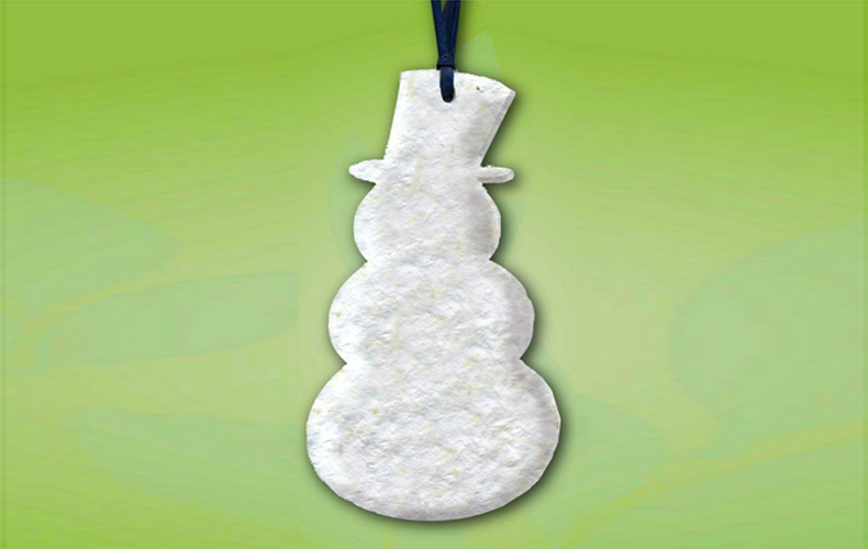 Snowman Seeded Ornament