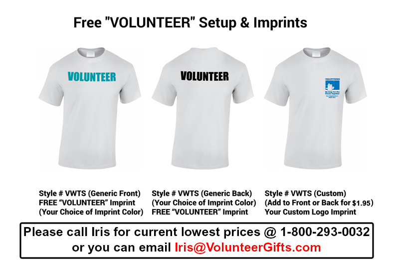 22d7cf67 Volunteer T-Shirt - Volunteer Gifts