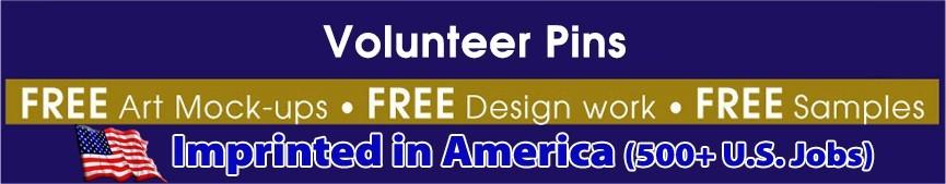 Volunteer Pins (IN-STOCK)