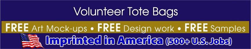 Volunteer Tote Bags